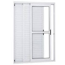 Porta Balcão 3..fls De Alum 2.10 X 1.20 Branca L-25
