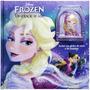 Livro Infantil Frozen Um Coração De Gelo + Globo De Neve