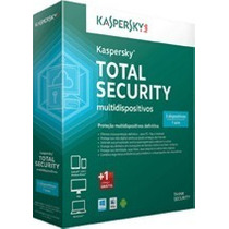 Kaspersky Total Security Multidispositivos 2016 5 Pcs 1 Ano!
