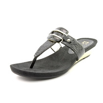 Anne Klein Ita Synthetic Thong Sandal