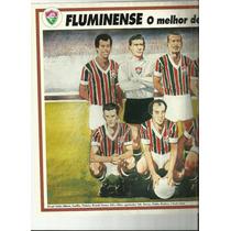 Poster Fluminense O Melhor De Todos Os Tempos 1994 Placar