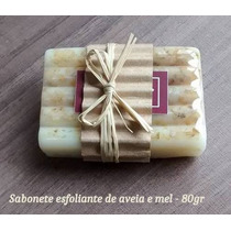 8 Sabonetes Em Barra Artesanal/ Esfoliantes