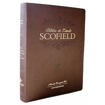 Bíblia De Estudo Scofield - Marrom
