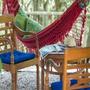 Rede De Descanso Dormir Varanda Jardim Praia Pronta Entrega
