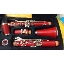 Clarinete Vermelho ((show)) N Yamaha Selmer Eagle Michael
