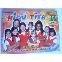 Álbum Figurinhas Chiquititas 2 1999 Maxi Cromos Panini Compl