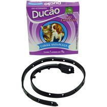 Três Coleiras Anti-pulga/carrapato 16g Cães E Gatos -