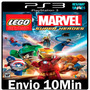 Lego Marvel Super Heroes - Legendado Pt-br Psn - Ps3 - Envio