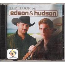 Cd O Melhor De Edson & Hudson