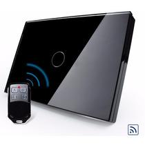 Interruptor Touch Livolo 1 Via Preto Rf Paralelo Three Way