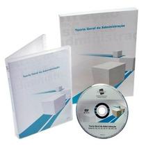 Curso Teoria Geral Da Administração Dvd Videoaulas + Livro