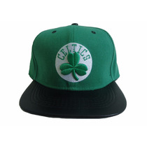 Boné Boston Celtics Snapback Mitchell & Ness