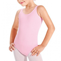 Collant Ballet Infantil Só Dança Decote Redondo Tam.: 12