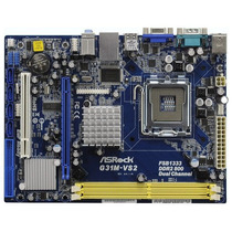 Placa Mae Asrock G31m-vs2 Socket 775 Ddr2