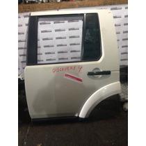 Porta Traseira Lado Motorista Land Rover Discovery 4 Pelada