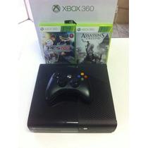 Xbox 360 Ultra Slim Bloqueado + 2 Jogos + Hdmi -- Semi Novo