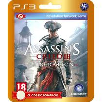 Assassins Creed Liberation (cód Id Ps3)