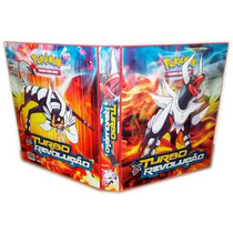 Álbum Fichário Para Cards Pokémon C/10 Transparências 502