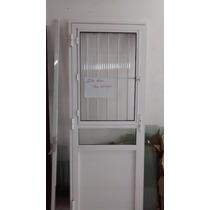 Porta Social Branca 3 Vidros Direita 2.10x80 Em Santo André