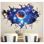 Papel De Parede Adesivo 3d Galaxia Universo Decoração Céu