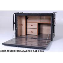 Caixa De Cozinha Caibi Para Caminhão Truck Vitória Rebaixada