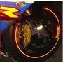 Friso Adesivo Refletivo Curvo Roda Moto Carro + Brindes 3mm