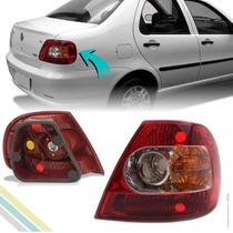 Lanterna Traseira Canto - Siena 2004 2005 2006 2007 2008