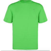 Camiseta Proteção Solar Uv Solo 50+ Verde M