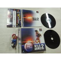 Wild Arms 2 - Completo Jap + Brinde (frete Grátis) Ps1 A+