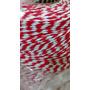 Barbante Fio 4/8 1kg Vermelho Mesclado Br Crochê Artesanato