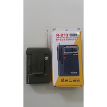 Rádio Digital Tecsun R 818 Am/fm Sw1-6 Ondas Curtas Faixas