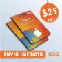 Turbine Seu Ipod/iphone! Itunes Gift Card De 25 D�lares Usa