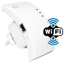 Repetidor Amplia Cobertura De Sinal Wifi Fortalece Wireless