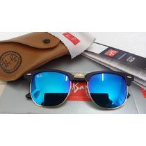 Óculos Rayban Clubmaster Espelhado Rb3016 Frete Grátis