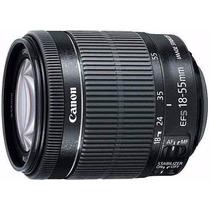 Lente Canon Ef-s 18-55mm F/3.5-5.6 Is Stm + Uv + Garantia