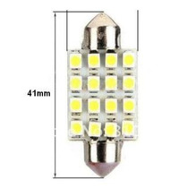 Lâmpada Torpedo 41mm 16led Cortesia P/ Luz Intena(teto), Pla