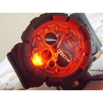 Relogio Atlantis Sports G-shock D-3641 Cinza Casio Protect
