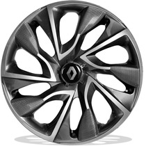 Jog Calota Aro 15 Ds4 Espor Renault Clio Sandero Logan Symbo