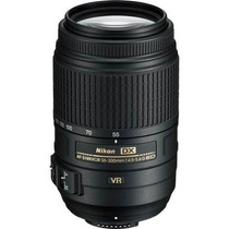 Lente Nikon Af-s 55-300mm F/4.5-5.6g Ed Vr + Caneta Limpeza