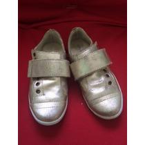 Tênis Dourado City Shoes