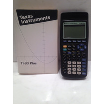 Calculadora Gráfica Texas Instrument Ti-83 Plus