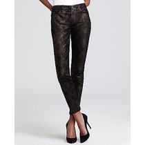Autentico Jeans 7 For All Mankind Skinny Metalic Black!!!