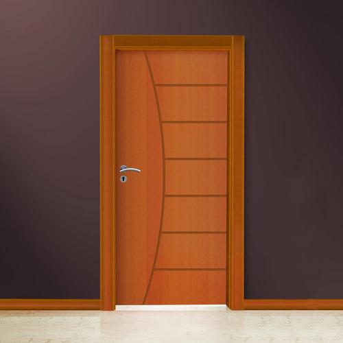 Porta De Madeira Semi - sólida Belissima 2,10mx70cmx35mm