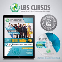 Apostila Digital Ituiutaba Mg Cargos Níveis Superiores 2016