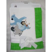 Cobertor Manta Para Bebe Mogli Disney 101 Cm X 76,2 Cm
