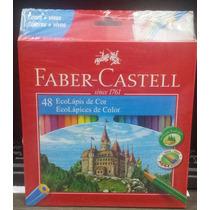 Lápis De Cor 48 Cores Ecolápis Faber Castell Pct. C/3 Caixas