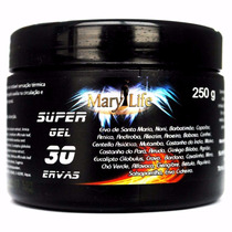 Super Gel 30 Ervas 250 Gr Mary Life