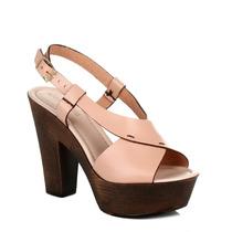 4ever Young Salto De Madeira Sandals Womens Bege 4