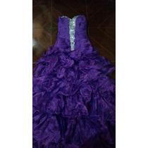 Vestido Roxo Lindo Madrinha Casamento Formatura 15 Ano Festa