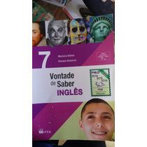 Livro: Vontade De Saber Ingles 7ºano.